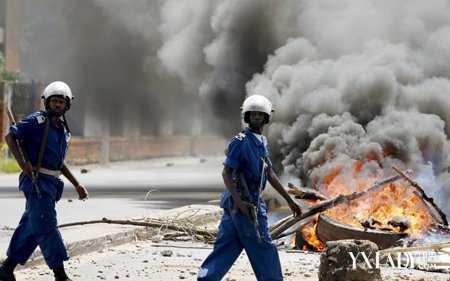 布隆迪政变宣告失败权力的游戏只维持了两天