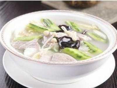 肉片汤的做法 肉片汤怎么做好吃
